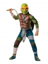 Déguisement Luxe Michelangelo Tortues Ninja enfant