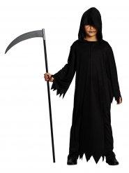 Déguisement faucheur Halloween enfant noir