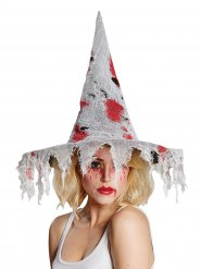 Chapeau sorcière ensanglanté