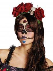 Serre-tête Dia de los Muertos gothique Halloween