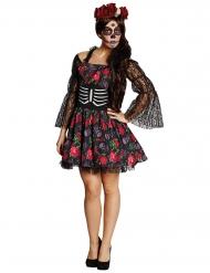 Déguisement squelette Dia de los muertos Halloween