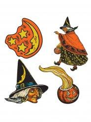 Set décoration sorcière Halloween