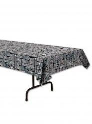Nappe effet pierres grises 137 x 274 cm