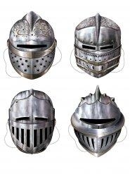 4 masques de chevalier médiéval