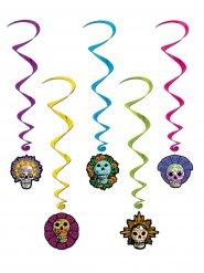 Suspensions spirale Dia de los muertos Halloween