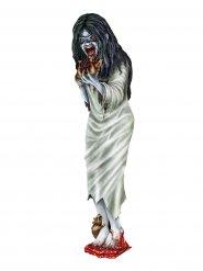 Décoration femme zombie d'Halloween multicolore
