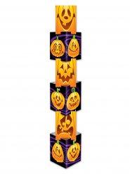 Suspension drôles de citrouilles Halloween 171x30 cm
