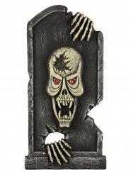 Pierre tombale squelette 90 x 44,5 x 4 cm