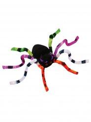 Décoration araignée colorée 51 cm