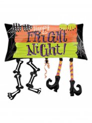 Ballon aluminium Happy Fright Night