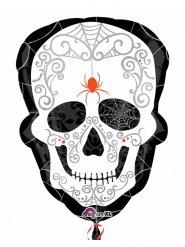 Ballon crâne Dia de los muertos 45 x 61 cm