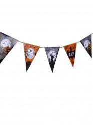 Guirlande à fanions cimetière Halloween