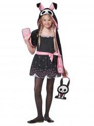 Déguisement lapin squelette Halloween enfant