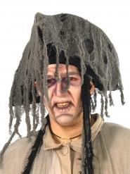 Chapeau de pirate fantôme gris