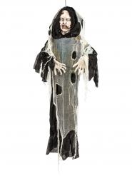 Décoration Halloween zombie noir-gris 150cm