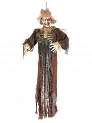 Décoration épouvantail zombie Halloween 150 cm