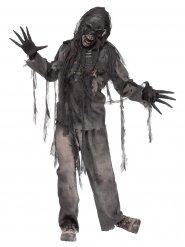 Déguisement de zombie brûlé vif homme Halloween