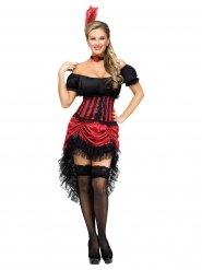 Déguisement danseuse saloon femme