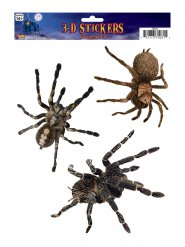 3 Stickers araignées Halloween