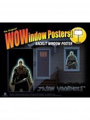 Autocollant fenêtre Jason Voorhees Vendredi 13™ 91 x 152 cm