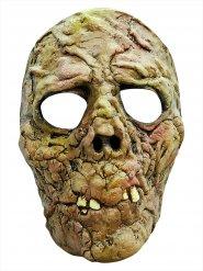 Masque zombie vert Halloween