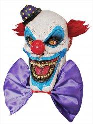 Masque latex clown effrayant