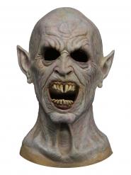 Masque en latex monstre Halloween blanc