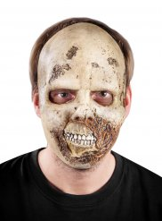 Masque de zombie en latex Halloween