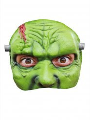 Masque Halloween monstre vert