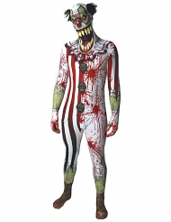 Déguisement clown ensanglanté adulte Morphsuits™ Halloween