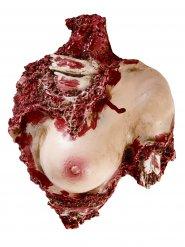 Décoration buste de femme démembrée Halloween