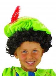 Perruque cheveux bouclés enfant noir