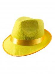 Chapeau de fête jaune adulte