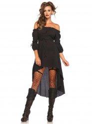 Déguisement robe historique noire femme
