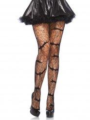 Collants noirs chauve-souris vampire femme Halloween