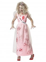 Déguisement reine de promo zombie femme Halloween