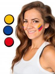 Palette Maquillage drapeau Équateur - 3 couleurs jaune-bleu-rouge 60 ml