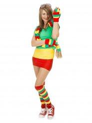 Chaussettes de sportif tricolore femme