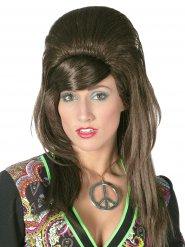 Perruque rétro cheveux longs