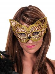 Masque léopard adulte