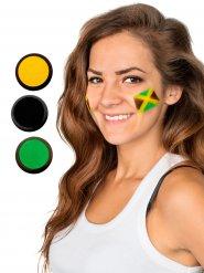 Palette maquillage football drapeau Jamaïque jaune vert noir 60 ml