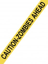Ruban attention zombies 15 m x 8 cm
