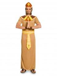 Déguisement pharaon égyptien marron homme
