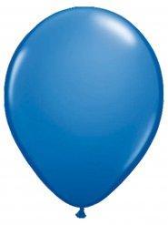 Décoration de fête ballons 10 pièces bleu 30cm