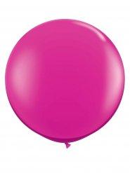 Ballon géant fuchsia 90 cm