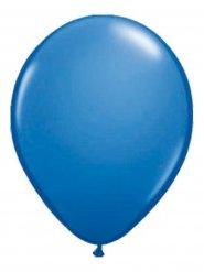 Ballons métallique 10 pièces bleu 30cm