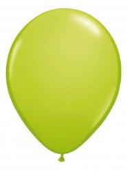 10 Ballons vert citron 30cm