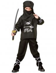 Déguisement ninja enfant noir et blanc