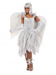 Déguisement ange femme blanc