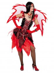 Déguisement de fée diabolique femme Halloween